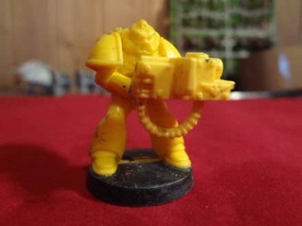 Heavy Bolter Tactical Marine from Space Crusade Boxed Set OOP